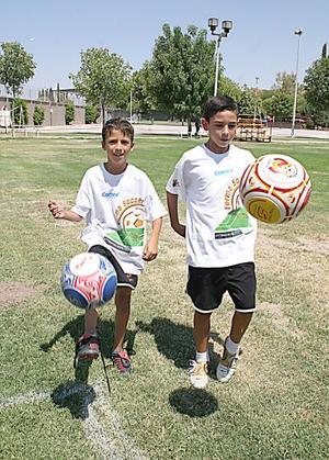 Diego González y Carlos Dueñes.