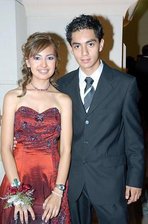 Nathalie Quiroz y Diego Miguel Sotomayor.