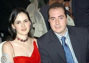 Mónica y Gerardo Ruenes.