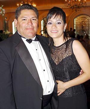 Arturo García y Rosario Iparrea.