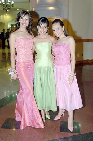Ana Serna, Diana Orona y Gabriela Guzmán.