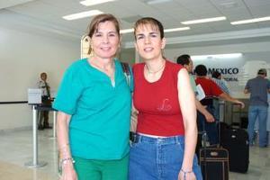 Silvia Murra y Laura García viajaron a Oaxaca.