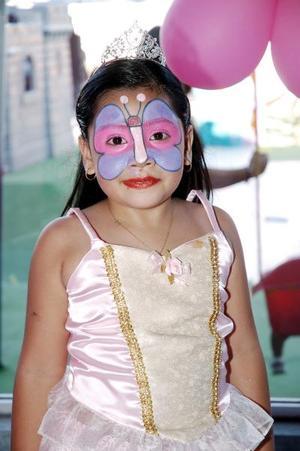 Daniela García Betancourt cumplió seis años de vida y los celebró con una divertida reunión infantil.