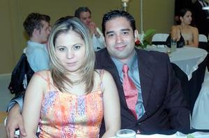 Nuria Martínez y Miguel Ángel.