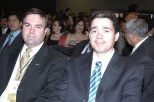 Eduardo Ortuño e Ignacio Corona.