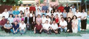 Grupo de Catedráticos de la Unidad Torreón de La Universidad Autónoma de Coahuila.