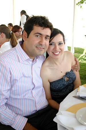 Jorge Lugo y Patricia Cárdenas.