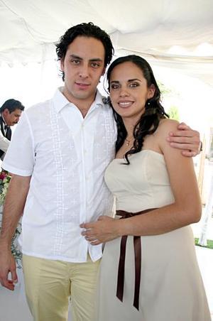José Jezreel Arredondo y Angélica Valenzuela.