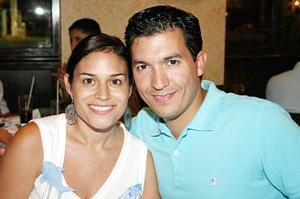 Karla Nuño de Alatorre y Miguel Alatorre.