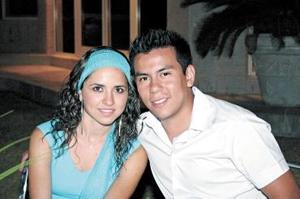 Cristina Berlanga y José A. Medina