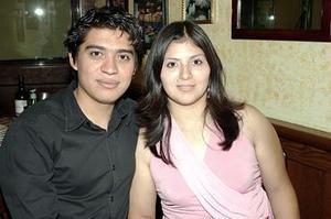 Damián Jaime y Angélica Barajas.