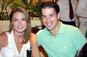 Daniela de Montemayor y Rodrigo Montemayor.