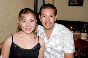 Leny Sánchez y Óscar García.