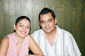 Mariana Ramos y Rafael Arista .