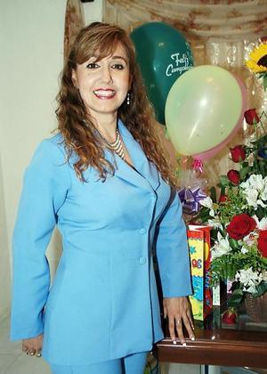 Elizabeth Elías Páez festejó su cumpleaños hace unos días.