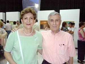 Saúl Gómez Martínez y Beatriz Cantú de Gómez.