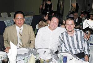 Jesús Fernández, Gerardo y Jorge García.