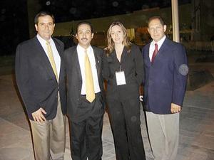 José Antonio Murra Giacomán, José Mena Soto, Adriana Gaona Vallejo y Alfredo Mafud Kaim.