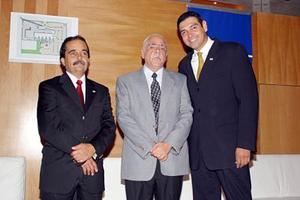 César del Bosque, Raymundo Verduzco y Edmundo Mesta.