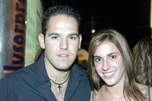 Enrique Albéniz y Carla Setién.