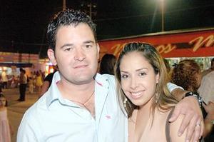Mauricio Albéniz y Alejandra de Albéniz.
