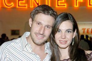Pedro Valdés y Susana Estrada.