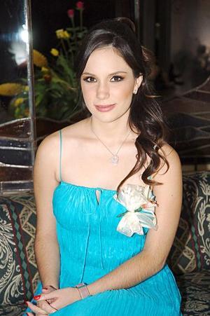 Karla María Corrales Elizondo contraerá matrimonio el próximo sabado 23 de julio, con Rogelio Braña Barrera.