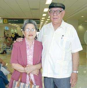 Francisco y Guadalupe Castro viajaron a Puerto Vallarta.