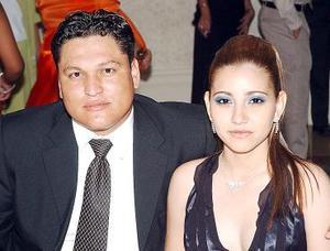 Luis Elías Nasser Torres y Laura de Nasser.