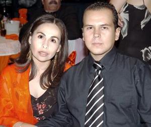 <b>21 de julio</b><p> Mónica Meléndez y Víctor del Monte Limones.
