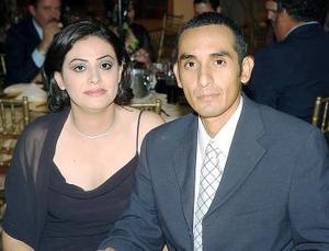 Norma Payán y Enrique Cruz.