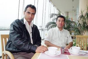 Juan Gerardo Nevárez Ocón y Ricardo Sánchez Soto.