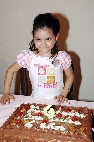 Ana Luisa Hernández Valero celebró su cumpleaños.