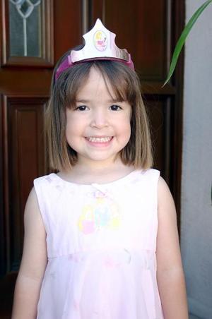 Antonella Haro del Río cumplió cuatro años  de vida.