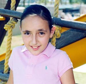Ivanna Khawly Kawas celebró su onceavo cumpleaños, en días pasados.