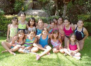Ivanna  Khawly festejó su cumpleaños con sus amiguitas.