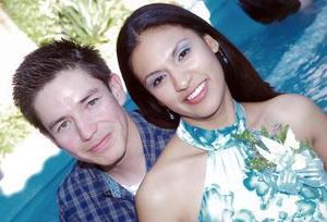 Julio Rangel Martínez y Viviana Ortega.