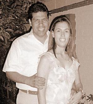 <b>23 de julio</b><p> Vania Lycett Azuara e Iván Hernández Rodríguez.