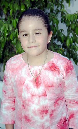 Adriana Martínez González, captada en reciente fiesta.
