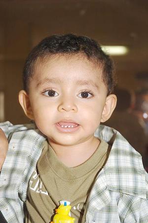 <b>24 de julio 2005</b><p> Joshua  Fernando Ibarra Mejía cumplió un año de vida, y por ello fue festejado por sus papás, Fernando Ibarra e Irma Leticia Mejía.