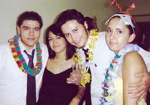 Alfonso Campa, Cherry Saldívar, Alejandro Miyar y Ana Érika Fernández.