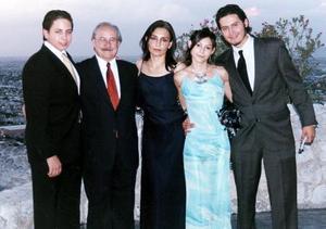 Rafael Miyar Fernández, Rafael Miyar, Enriqueta Fernández de Miyar, Sofía Miyar y Alejandro Miyar.