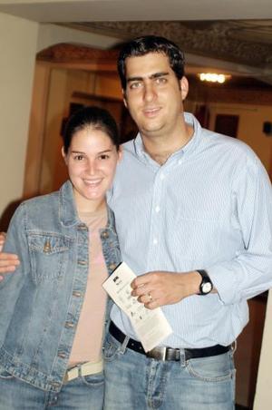 María Enríquez y Juan Pablo Murra.