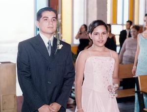 Valentín Gámez y Scarlett Fernández.