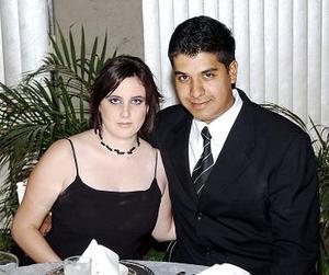 Maru Hernández y Javier Alvarado.