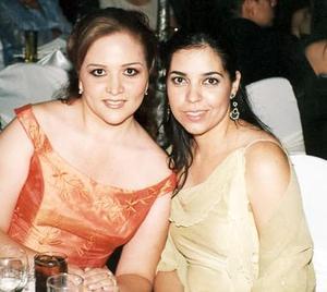 Mariana Merjil Piñon y María Elena López Blanco.