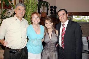 Antonio Kuri, Nancy de Kuri, Sofía Zarzar y Roberto Kuri.