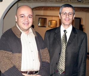 Lazar Azar y Gustavo Rivero Weber.