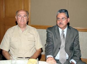 Romualdo Segovia y Gerardo Galindo.