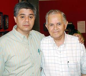 Alfredo de Alvarado y Vicente de Alvarado.